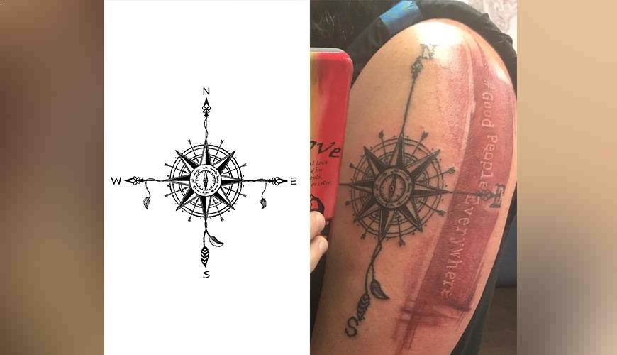 Our Artwork became a Tattoo!