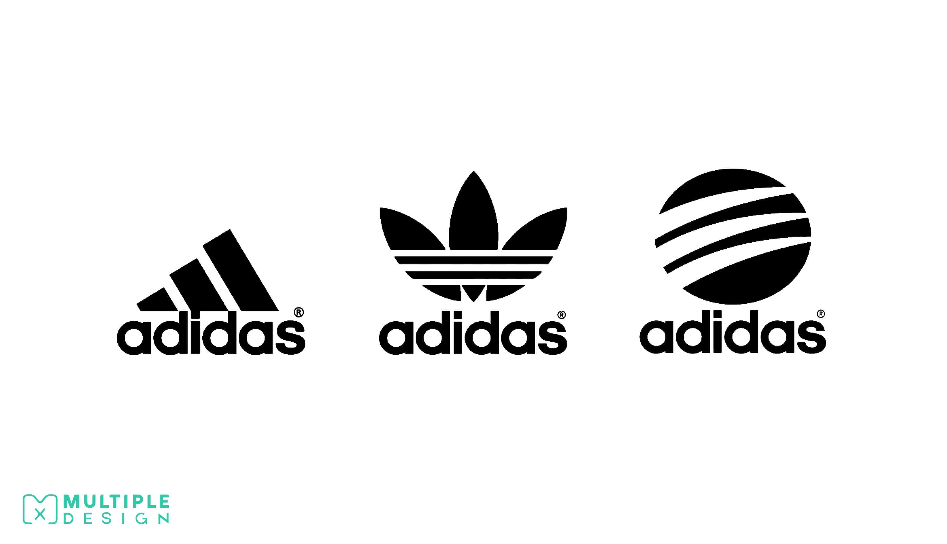 adidas three logos
