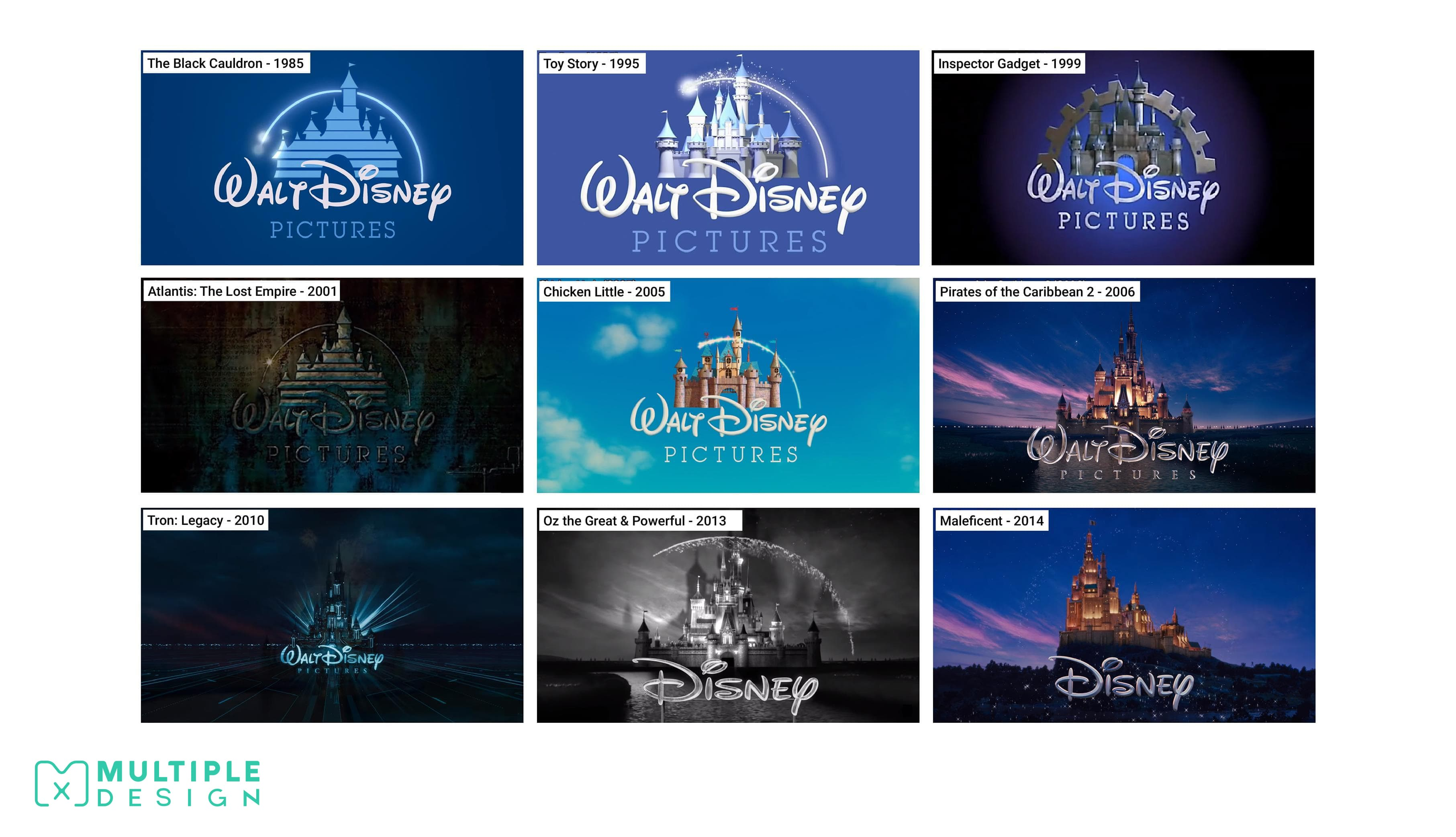 Disney Logo variants
