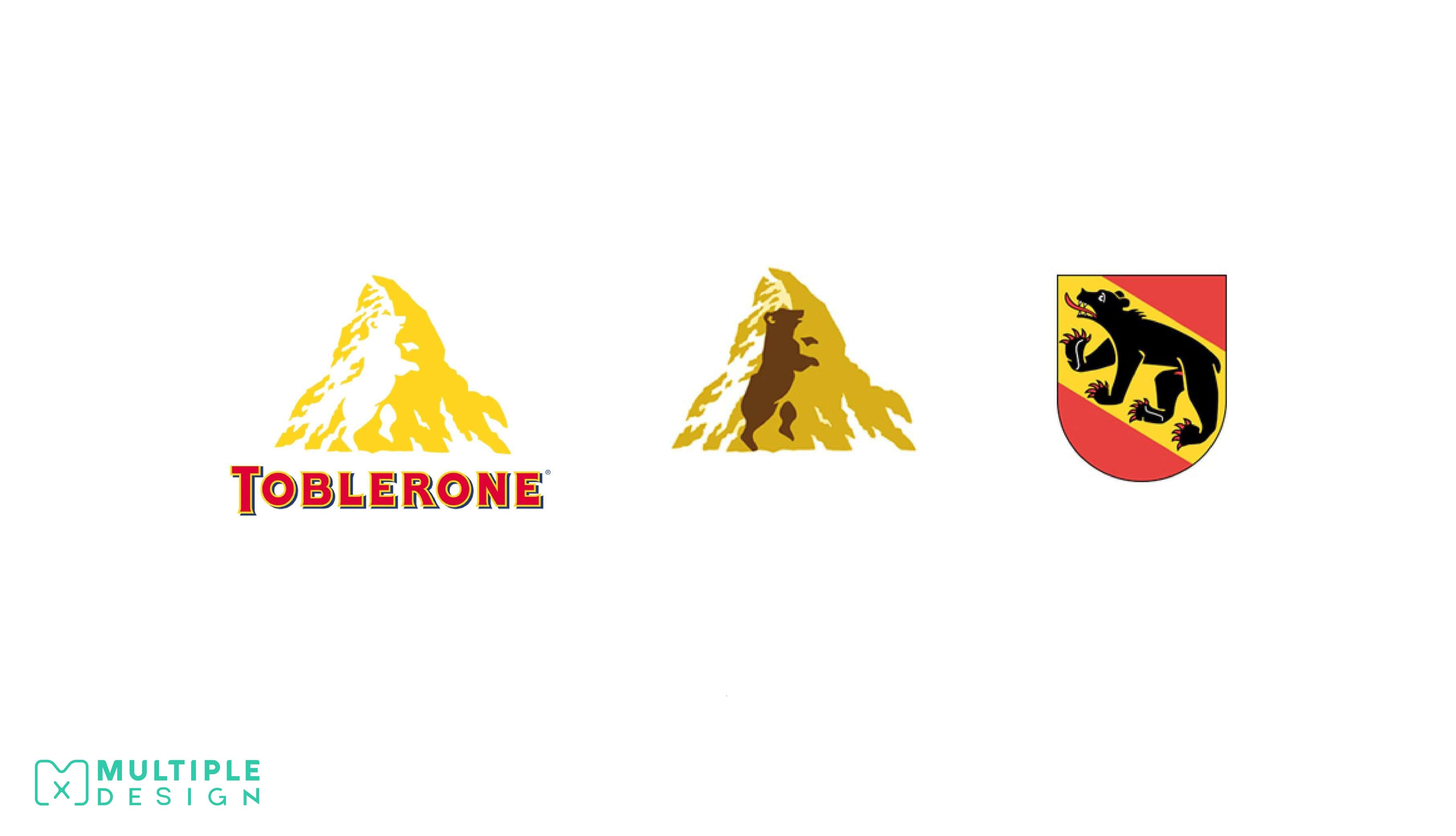 toblerone bear logo