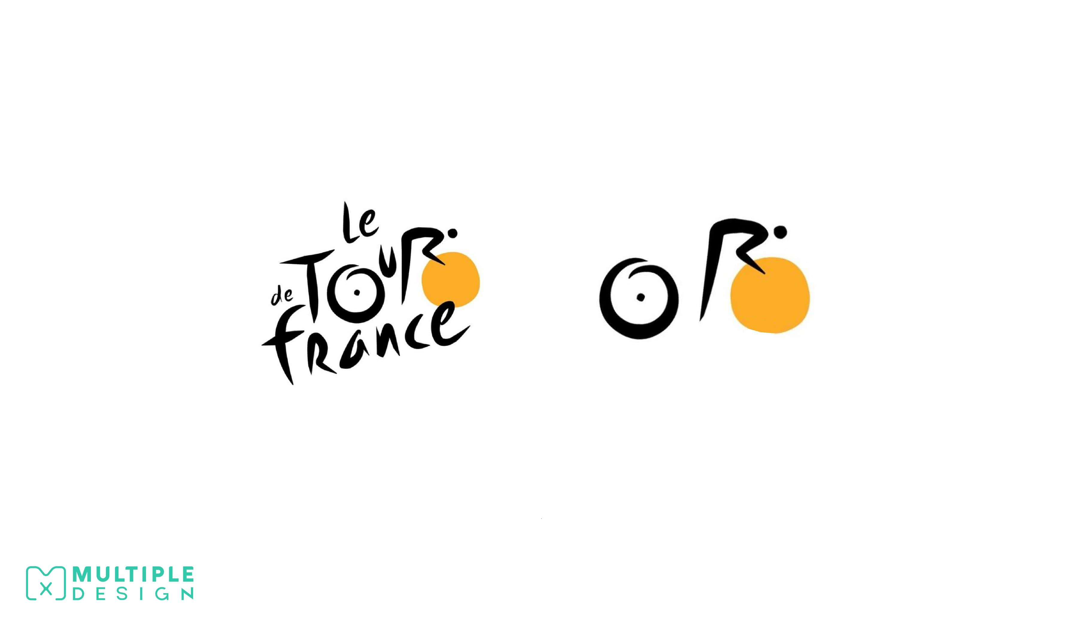 tour de france bike sun logo