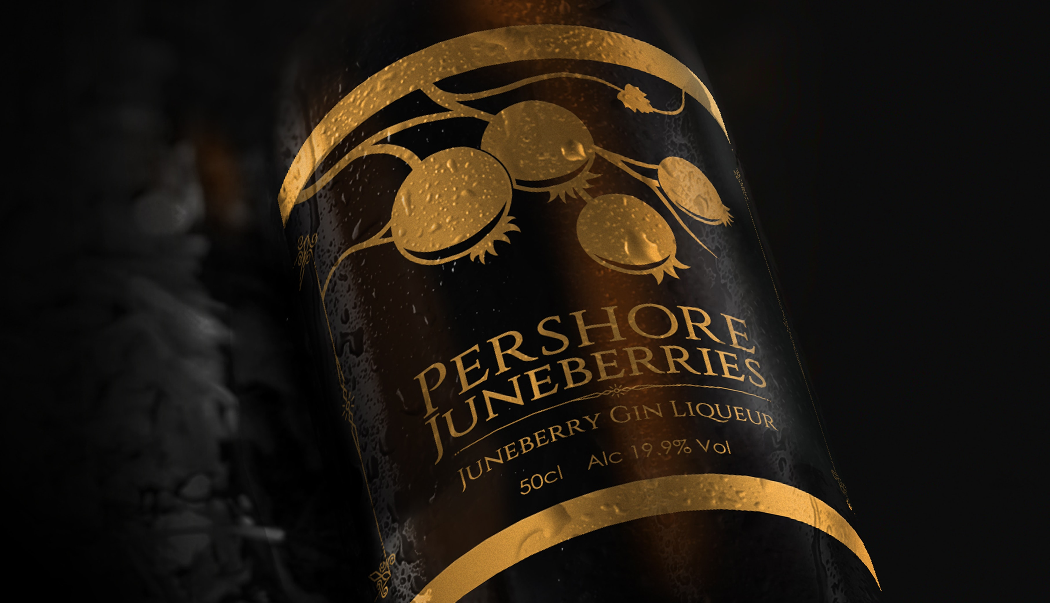 Pershore Juneberries - Gin Packaging