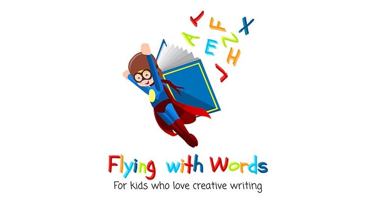 Flying With Words - Logo - Multiple Graphic Design