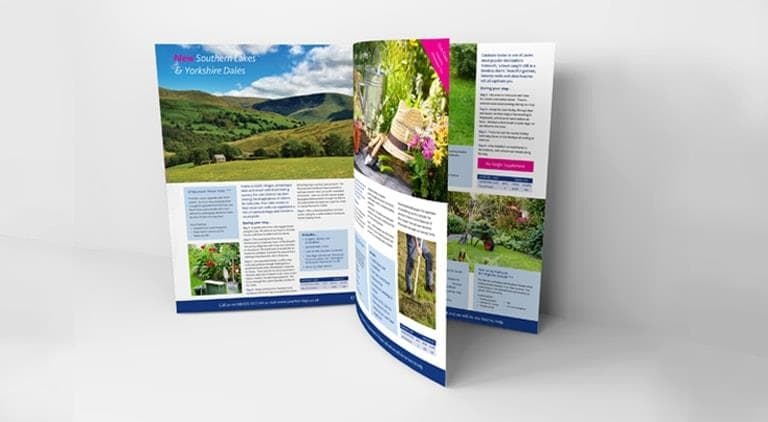 Greenhands Gardening - Brochure - Multiple Graphic Design