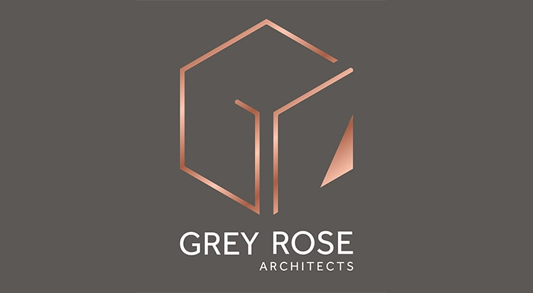 Grey Rose Architects - Logo - Multiple Graphic Design