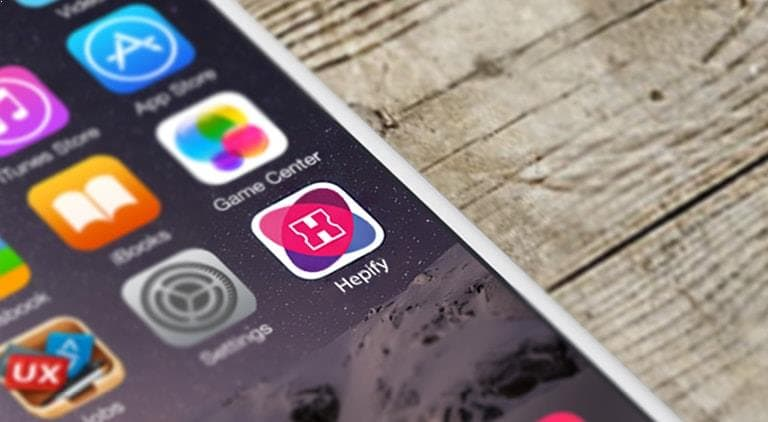 Hepify App - Logo - Multiple Graphic Design