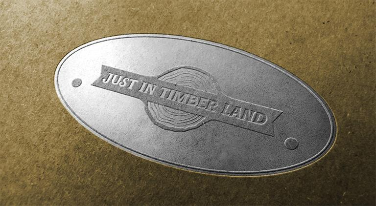 Just In Timber Land - Logo - Multiple Graphic Design