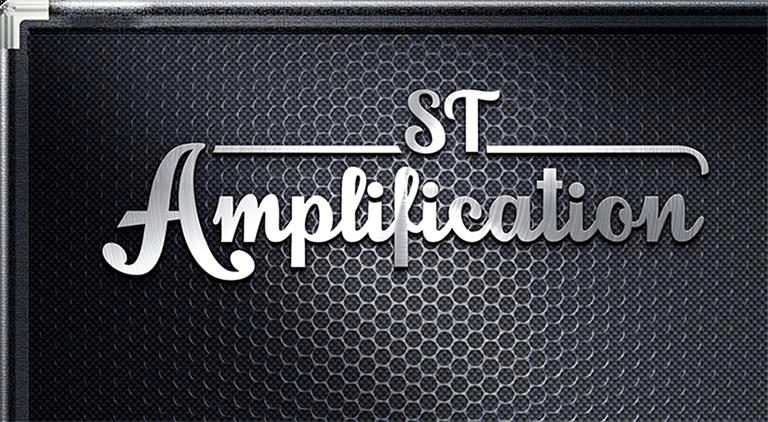 ST Amplification - Logo - Multiple Graphic Design