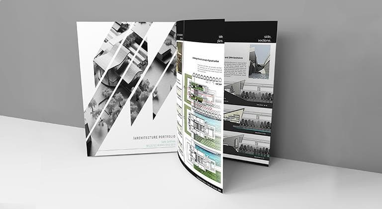 AGB Architects - Brochure - Multiple Graphic Design