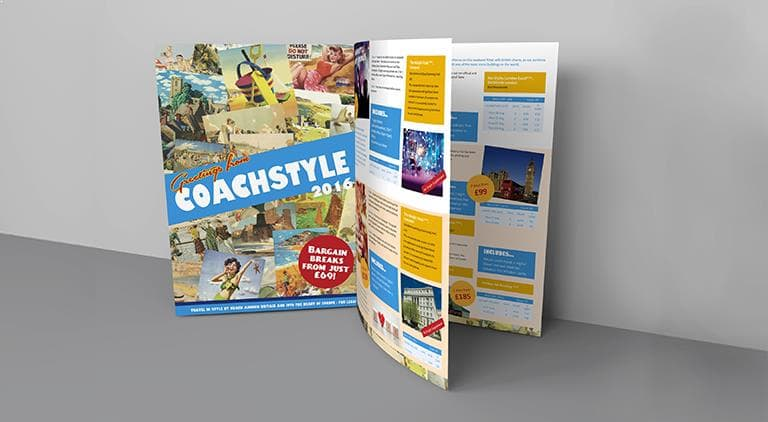Coachstyle Holidays - Brochure - Multiple Graphic Design