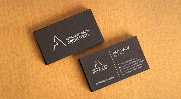 Armstrong Reeds - Business Card - Multiple Graphic Design