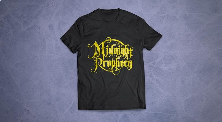 Midnight Prophecy - T-Shirt - Multiple Graphic Design
