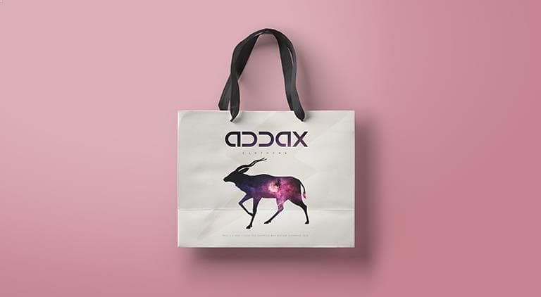 Addax Clothing - Packaging - Multiple Graphic Design