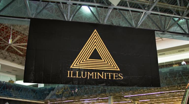 Illuminites - Eyelet Banner - Multiple Graphic Design