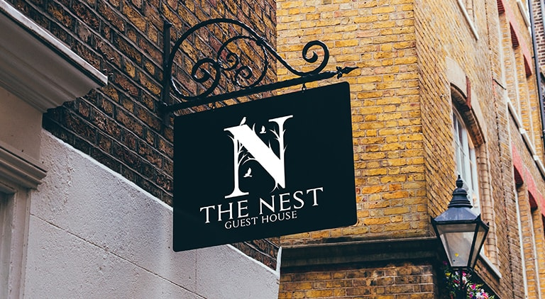 The Nest - Logo - Multiple Graphic Design