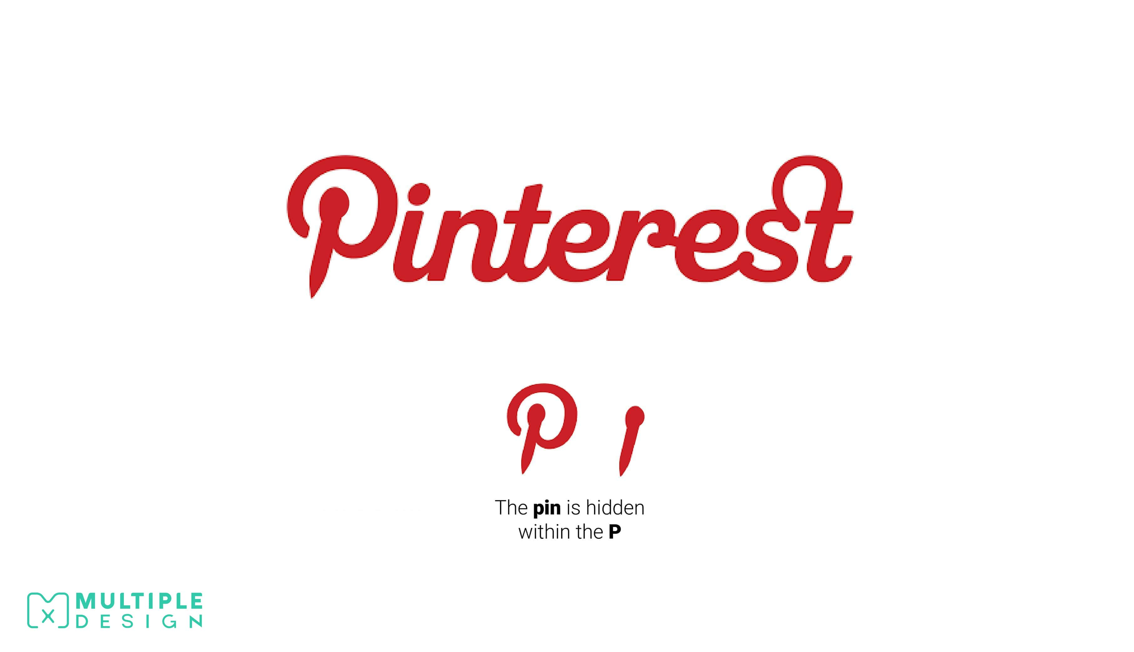 pin hidden pinterest logo